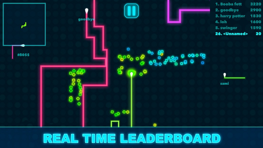 Powerline.io Real Time Leaderboard